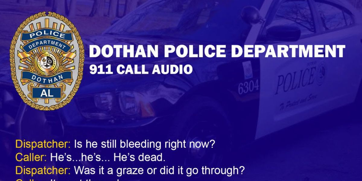 Dothan police release audio of hoax shooting 911 call