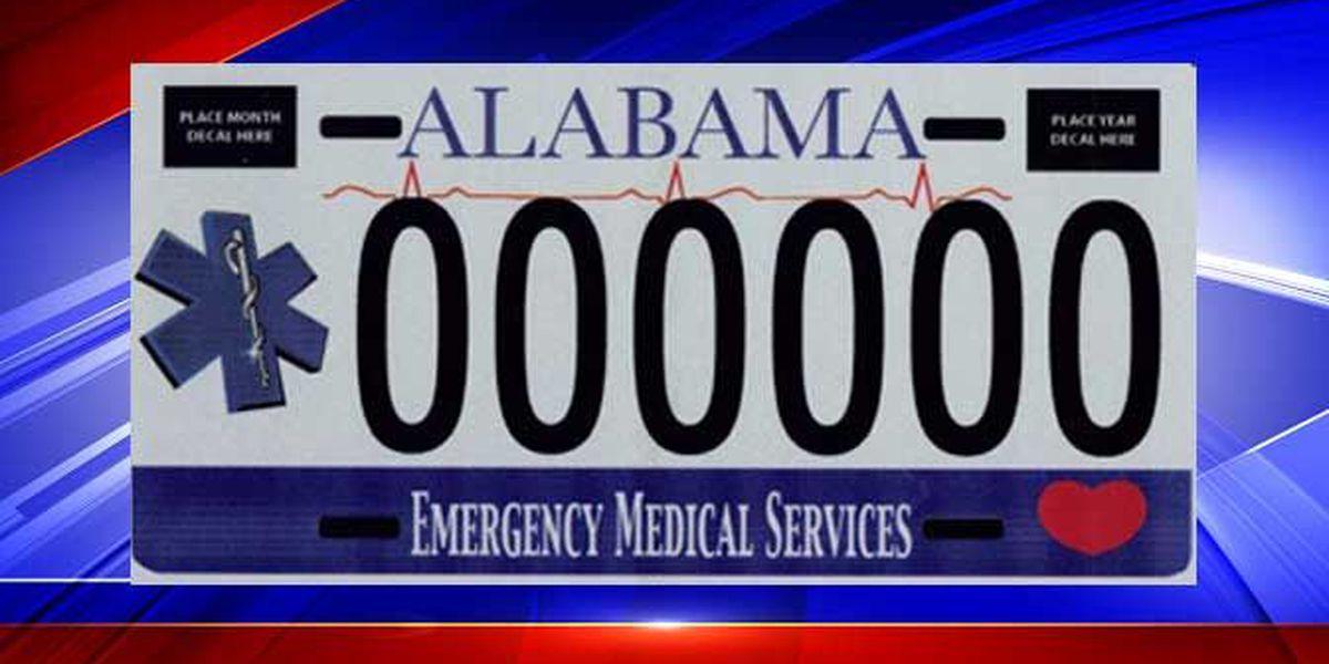 Alabama Car Tags >> New Alabama Ems Car Tag Available For Pre Order