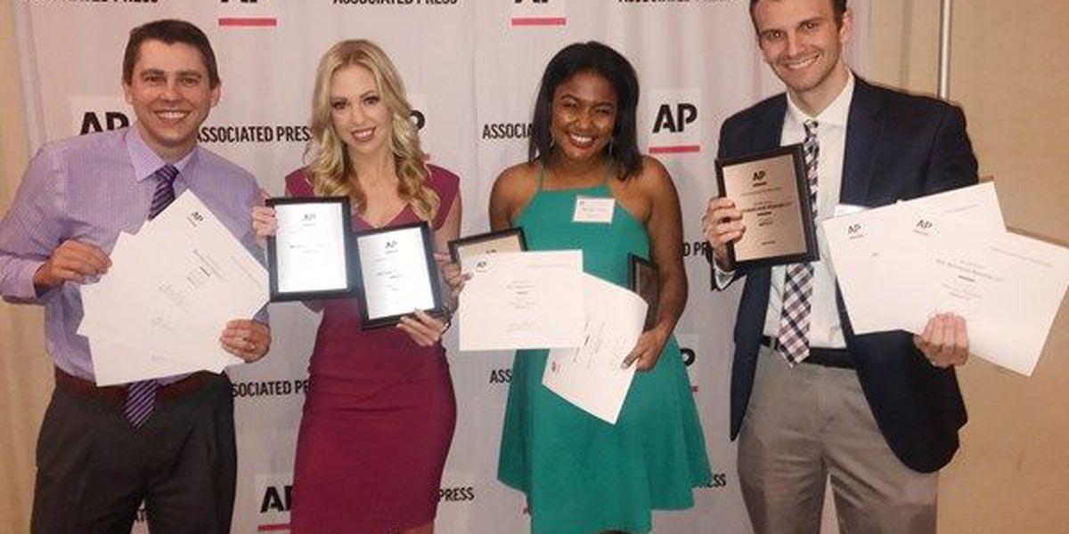 12 News earns 12 awards at Alabama AP AWARDS