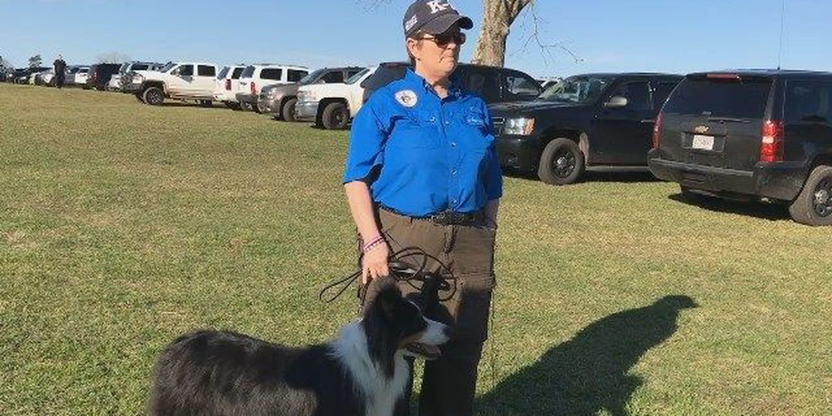 Message the cadaver dog important tool in Kegley search