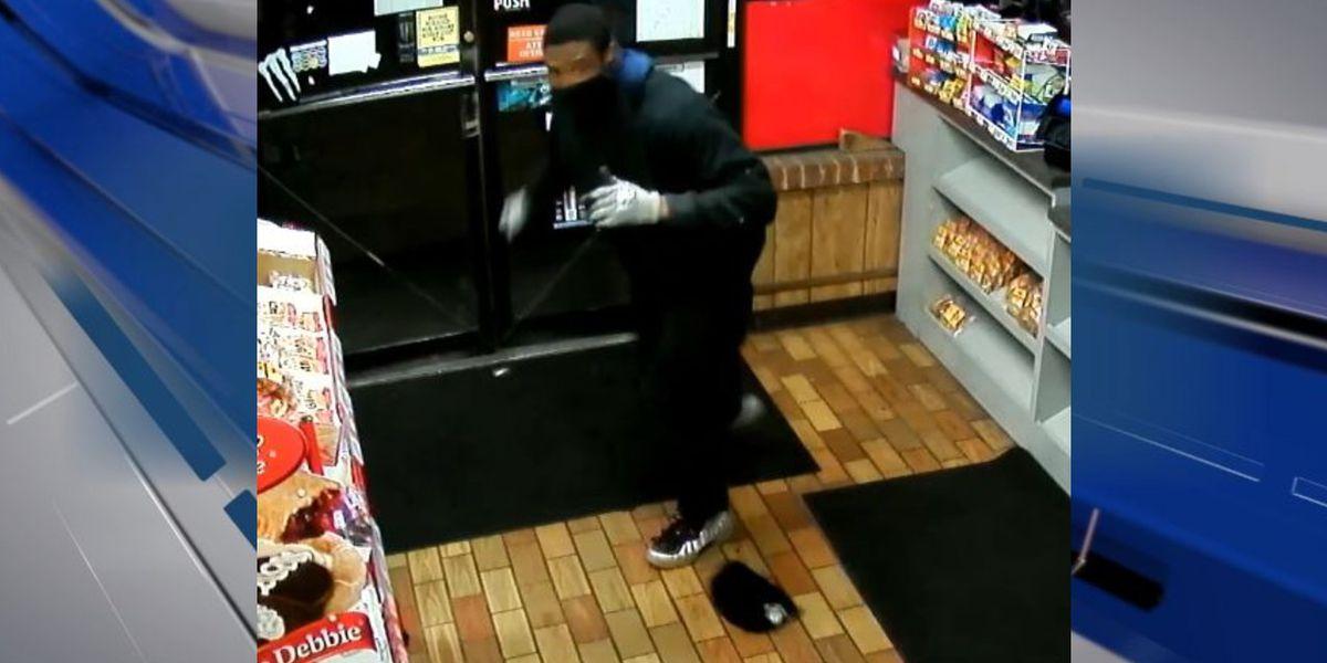 Suspect sought in convenience store burglary investigation