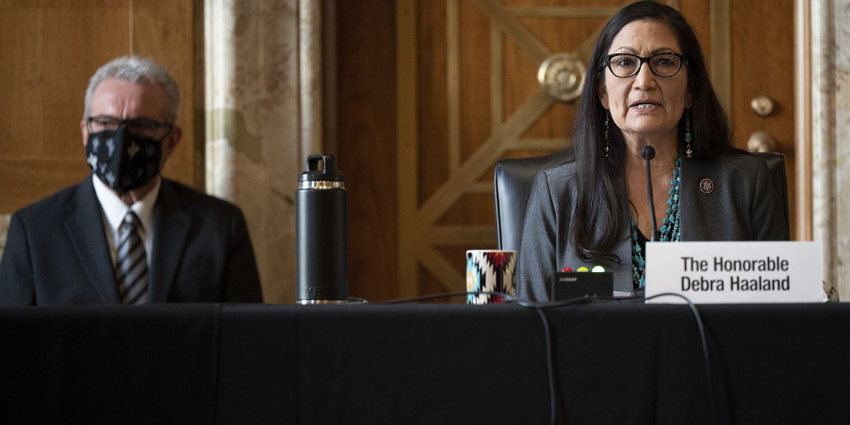 Senate energy panel backs Haaland for interior secretary