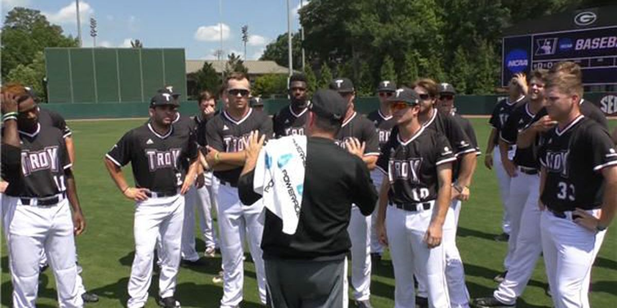 Troy baseball prepped for first NCAA Regional since 2013