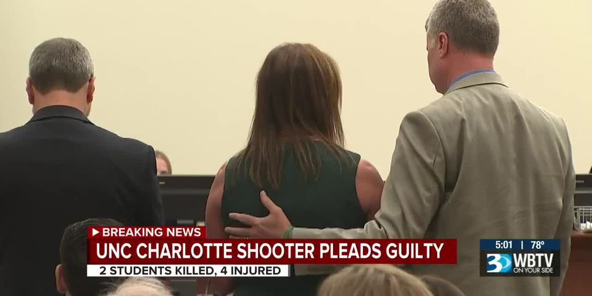 UNC Charlotte shooter pleads guilty