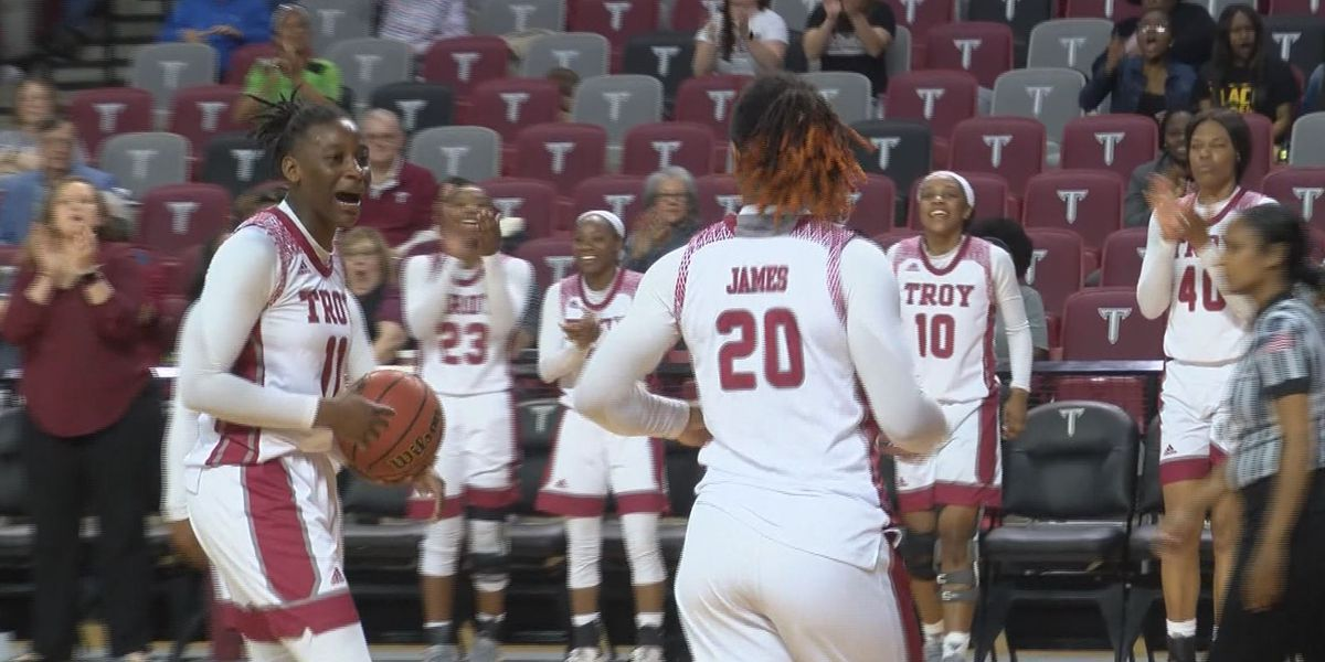 Blazers use late run to burn Trojans in WNIT