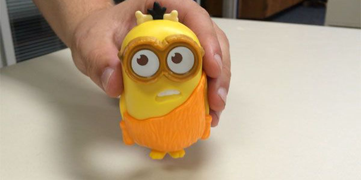 Unhappy parents claim Minion Happy Meal toy uses profanity
