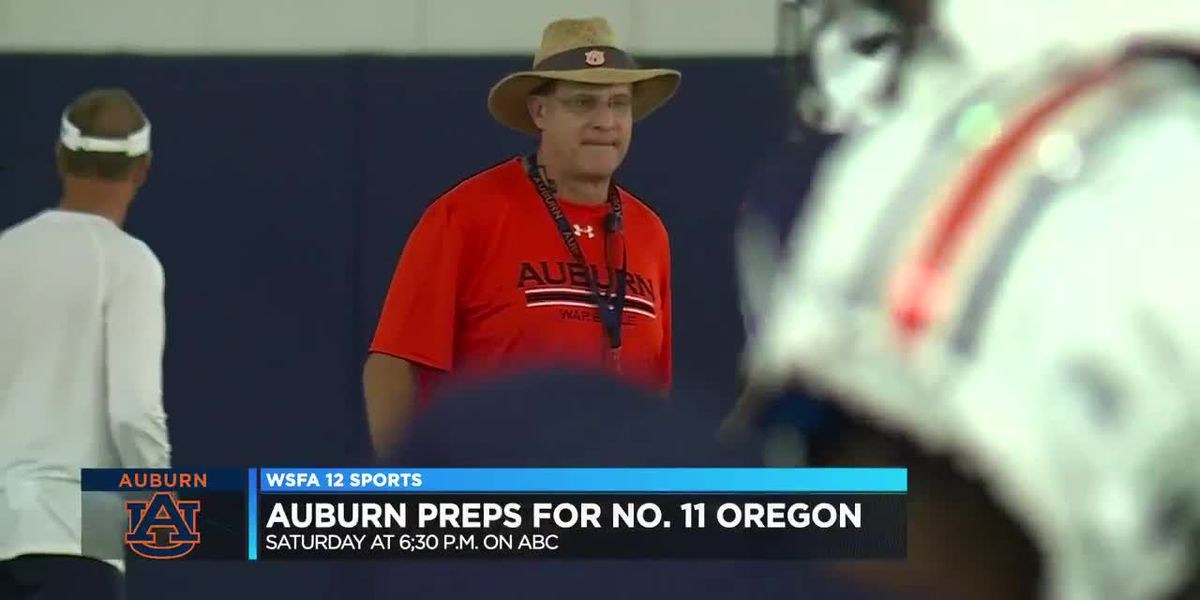 Auburn ready for season opener against Oregon