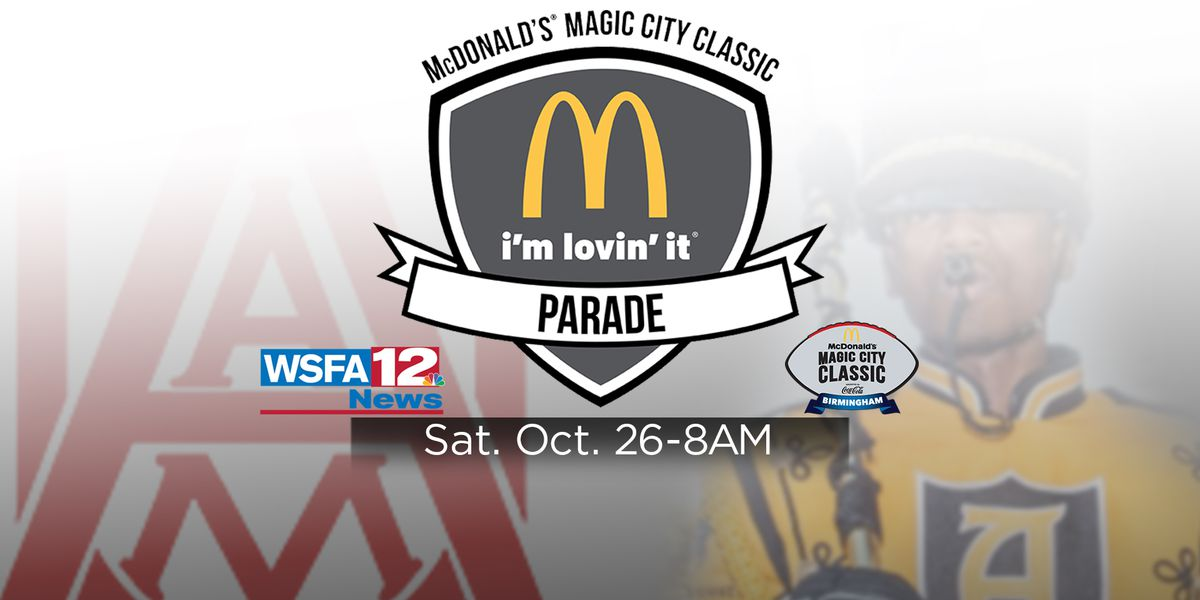 WSFA to air Magic City Classic Parade Saturday