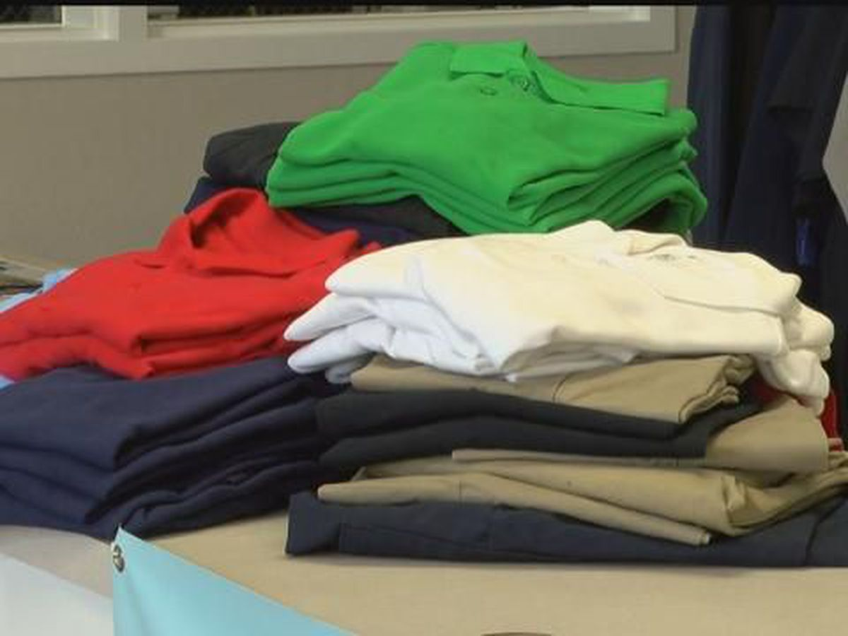 Family Sunshine Center collects uniforms items to help send clients back to school